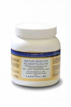 NATUR - ZEOLITH - KLINOPTILOLITH WR ø 12 µm 750g
