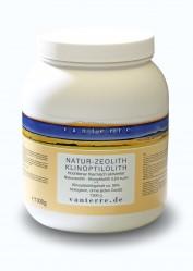 NATUR - ZEOLITH - KLINOPTILOLITH WR ø 6 µm 1300g